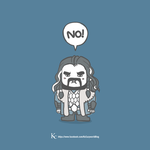Thorin Oakenshield is not amused by Kc-Eazyworld