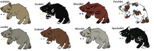 Warrior cat Adopts 2 *KITS* CLOSED by Evertooth