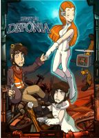 Fight for Deponia by Schattencyra
