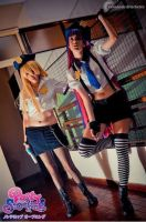 Panty and Stocking with Garterbelt police version by victoriacosplay