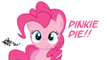 Pinkie Pie!! Made this in my free time! by Dezimen-Dash