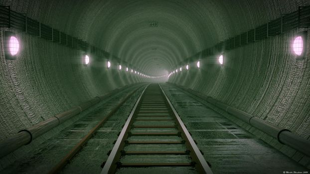 Subway Tunnel by MjP-70