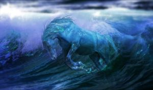 Water Horse by Arabiian