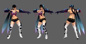 Tekken 6 - Zafina Butterfly Assassin Pose by IshikaHiruma