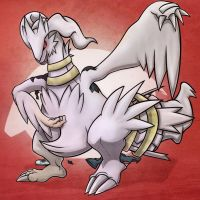 Shiny Reshiram TF by Heezy by AuraGuardianHadou