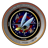 USS Shiloh Patch by sparrow794