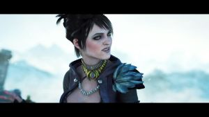 Morrigan Dragon Age: Origins by sagegrrl