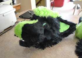 My First Fursuit Head by Behrooze
