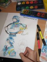 Aoba DRAMAtical murder by TiaSunflower