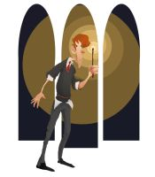 Ronald Weasley by Prydester