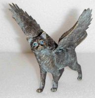 Bronze Eagle Cat by LEXLOTHOR
