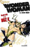 Wonder Woman VS Hela by Theamat