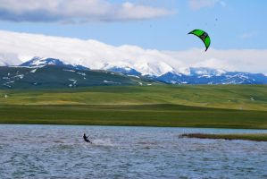Kite Surfer by Stock-by-Kai