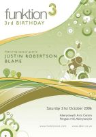 Funktion Birthday Flyer by fifties
