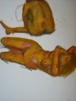Figural Study by MissElsy