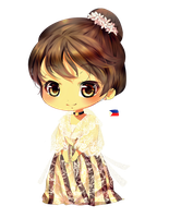 maria clara dress by temiji