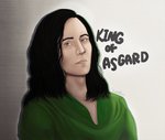 King of Asgard by PoulineStark