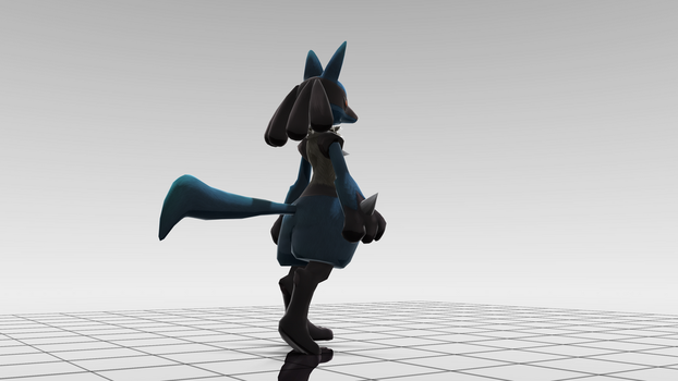 Lucario by MoonlightHedgie
