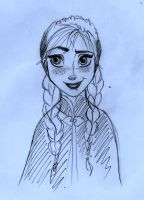 Princess Anna - Frozen by SophiaLiNkInFaN93