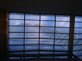 Gazing Up Through the Window by AiPFilmMaker