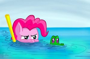 Filly in the Water by petirep