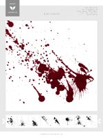 Blood Splatter by HarmonRivan