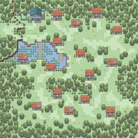 Pokemon AOE Newbark Town by Exiled-Shadow