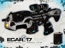 ECAR rifle by RileyDave