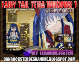 Wendy Marvell Theme Windows 7 by Danrockster