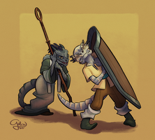 Commission: Brothers by GalooGameLady