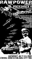 magrudergrind flyer in malang by skitdotterror