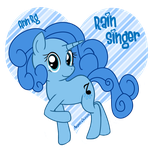 Rain Singer by angell0o0