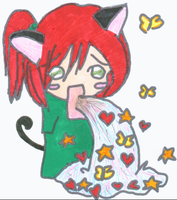 KITTY PUKING HAPPINESS OMG by Kitty-Terula