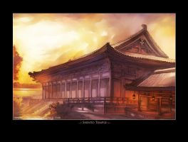 ..::Shinto Temple::.. by Megan-Uosiu