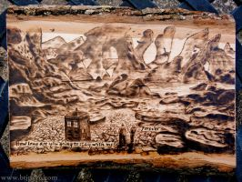 Forever - Doctor Who - Wood burning by brandojones