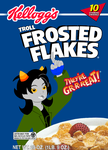 Troll Frosted Flakes by GameRat514