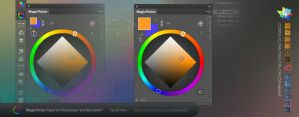 Tip#36: BIG color swatches in MagicPicker panel by Anastasiy