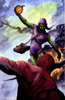 Green Goblin colors by SpaciousInterior