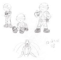 Chibified Marines by perfectionsflaw