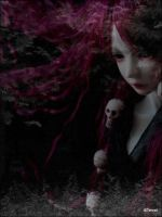 In a forest pitch-dark III by VampyrTenrai