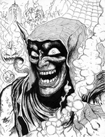 Green Goblin Ink 1 by matsuyama-takeshi