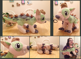 Crocadog Plush by Noxx-ious