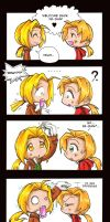 FMA Height Difference - Comic by KeyshaKitty