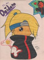 Deidara Chibi Is Loved by EntityLvr