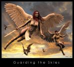 Guarding the Skies by Kaernen