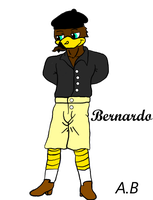 My new AJK OC Bernardo by Pandalove93