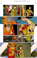 The Sundays #2 page 18 colors by ScottEwen