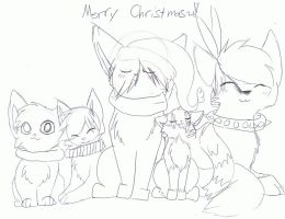 MERRY CHRISTMAS MOFOS by Etheral-Fox