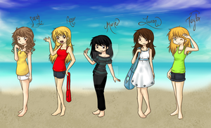 SoCal Girls by PuccaNoodles2009