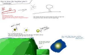 How to draw 1 by Varjokani